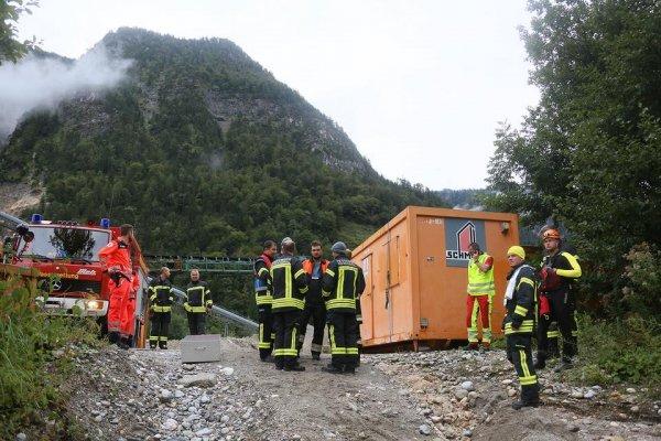 Wasserrettung vom 26.08.2018  |  (C) Feuerwehr Bad Reichenhall (2018)