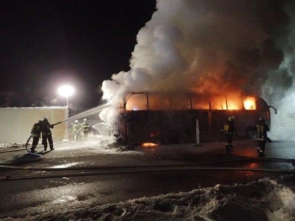 Brandeinsatz vom 29.01.2017  |  (C) Feuerwehr Bad Reichenhall (2017)