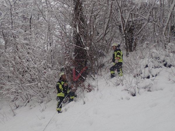 Technische Hilfeleistung vom 10.01.2019  |  (C) Feuerwehr Bad Reichenhall (2019)