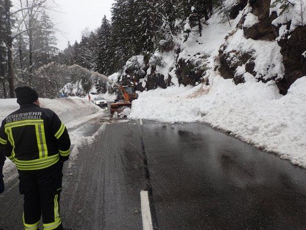 Technische Hilfeleistung vom 13.01.2019  |  (C) Feuerwehr Bad Reichenhall (2019)