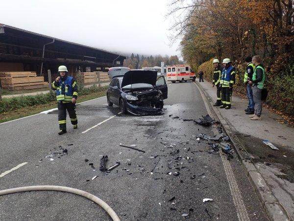 Brandeinsatz vom 10.11.2019  |  (C) Feuerwehr Bad Reichenhall (2019)