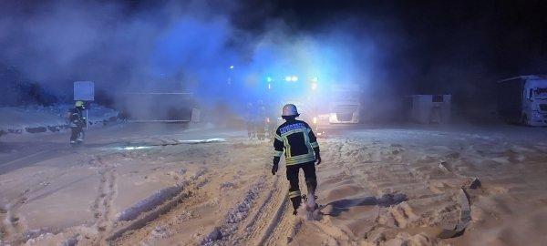 Brandeinsatz vom 18.01.2021  |  (C) Feuerwehr Bad Reichenhall (2021)