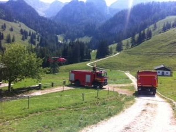 Brandeinsatz vom 08.08.2018  |  (C) Feuerwehr Bad Reichenhall (2018)