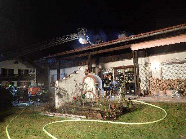 Brandeinsatz vom 18.01.2020  |  (C) Feuerwehr Bad Reichenhall (2020)