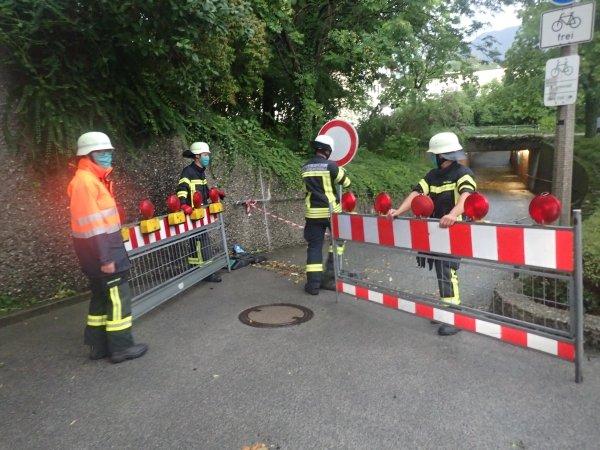 Technische Hilfeleistung vom 10.07.2020     (C) Feuerwehr Bad Reichenhall (2020)