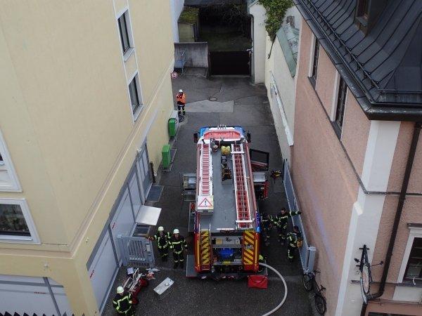 Brandeinsatz vom 27.01.2020  |  (C) Feuerwehr Bad Reichenhall (2020)