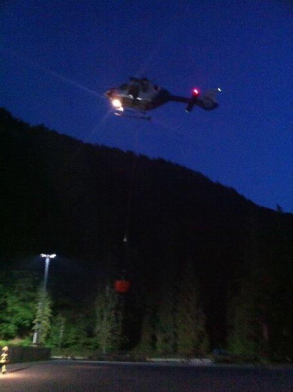 Brandeinsatz vom 20.08.2018  |  (C) Feuerwehr Bad Reichenhall (2018)