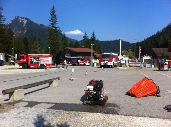 Brandeinsatz vom 21.08.2018  |  (C) Feuerwehr Bad Reichenhall (2018)